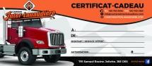 Certificat-cadeau Inter
