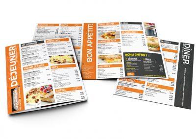 Restaurant Le Survenant-nouveau menu 2020